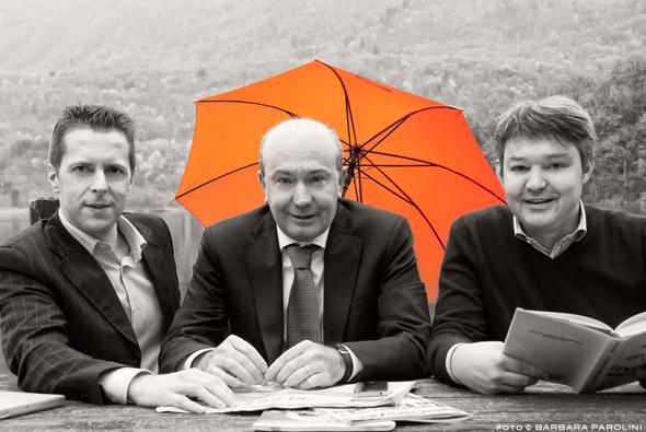 Assicurazione Semplice: Alessandro, Davide, Roberto - fotoBarbaraParolini