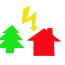 Azione del fulmine o fenomeno elettrico?